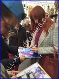 Audrey fleurot signing autographs