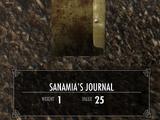 Дневник Санамии (6)