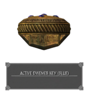 Двемерский Ключ Активации (Синий)