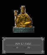 Статуя Снежного Эльфа