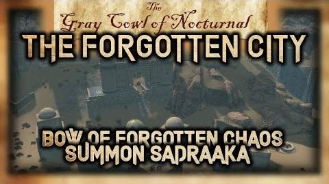 """""""The Forgotten City"""" Side Quest Walkthrough! - """"The Gray Cowl of Nocturnal"""" - Skyrim SE - Legacy"""