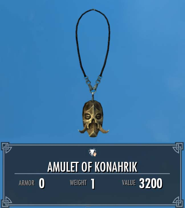 Amulet of Konahrik