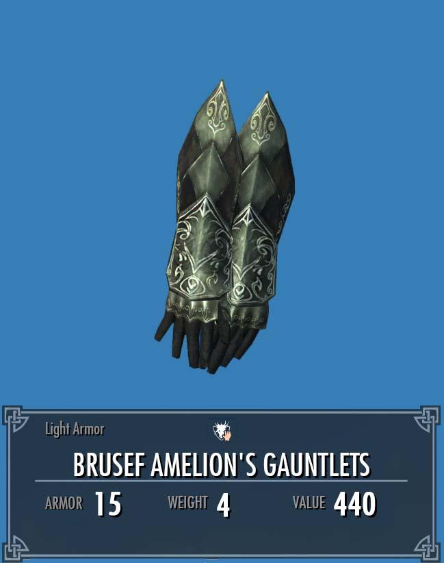 Brusef Amelion's Gauntlets