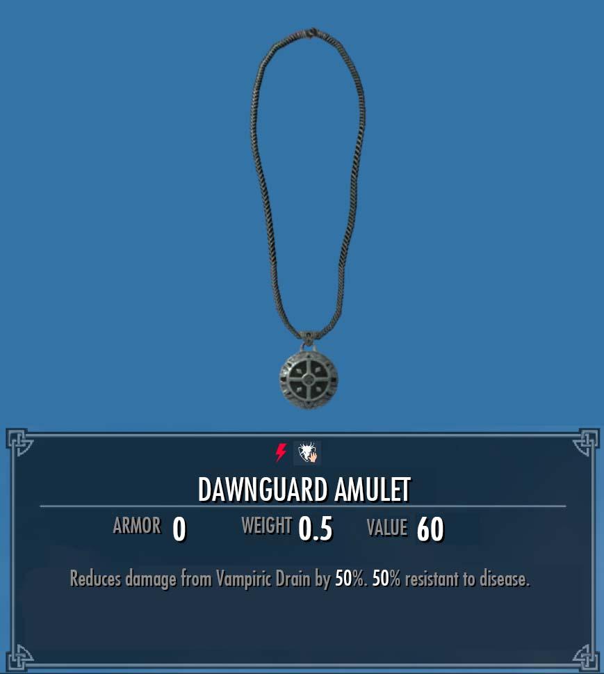 Dawnguard Amulet