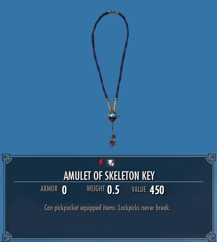 Amulet of Skeleton Key