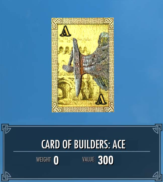 Card of Builders: Ace