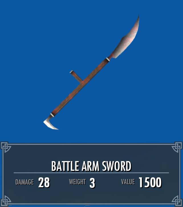 Battle Arm Sword