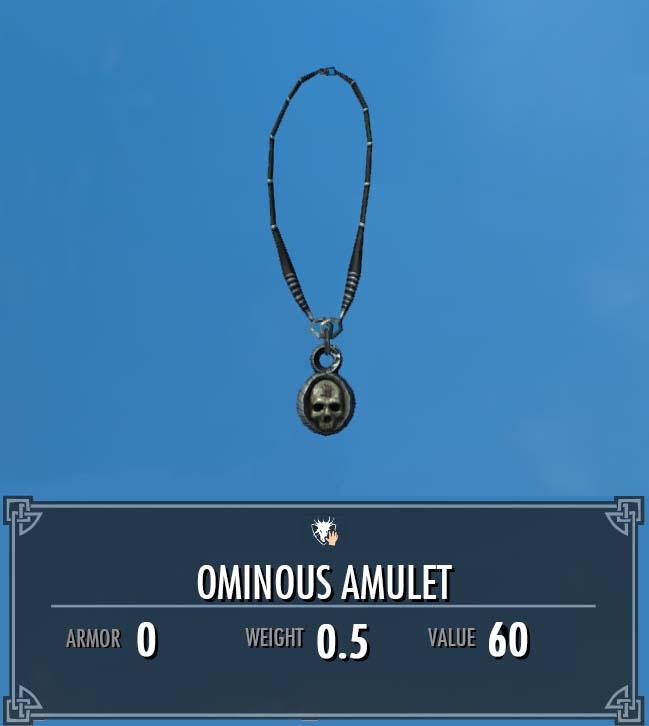 Ominous Amulet