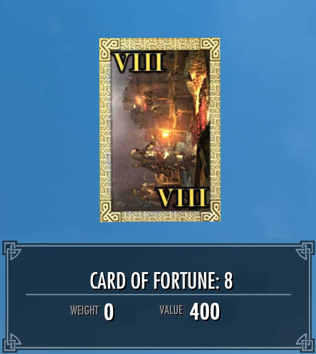 Card of Fortune: 8