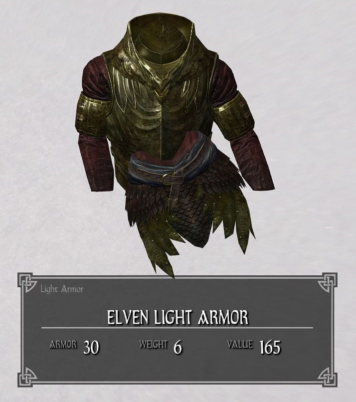 Elven Light Armor