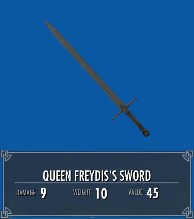 Queen Freydis's Sword