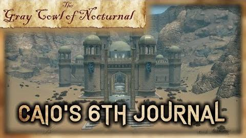 """""""Caio's 6th Journal"""" Location! - """"Gray Cowl of Nocturnal"""" - Skyrim SE (Legacy)"""