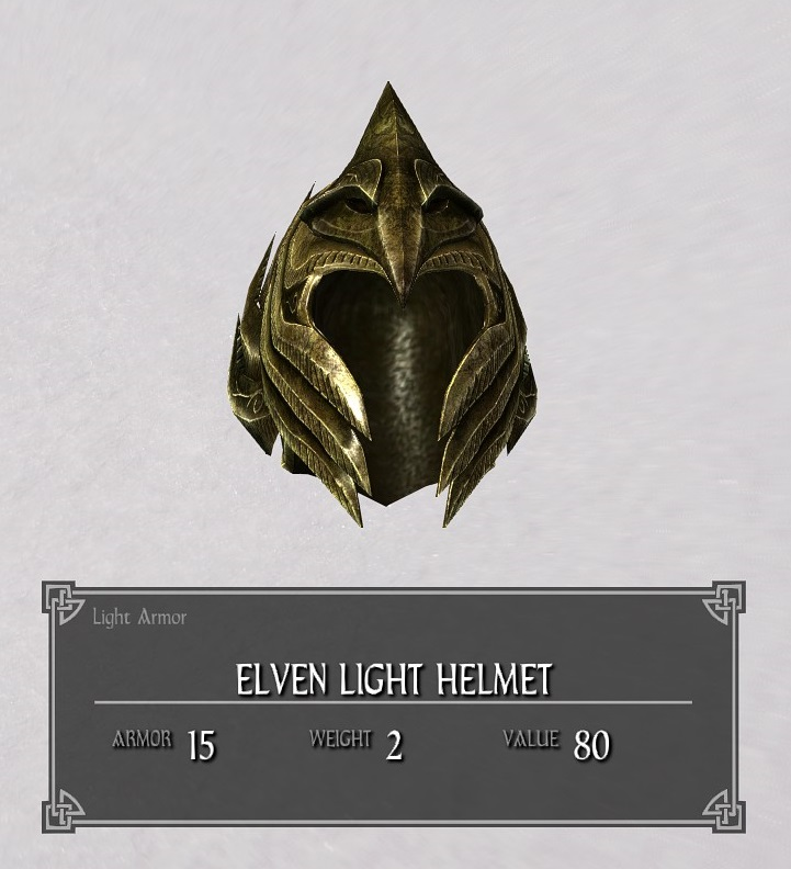 Elven Light Helmet