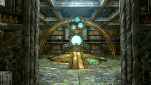 Ruins of Rkund-Dwemer Portal