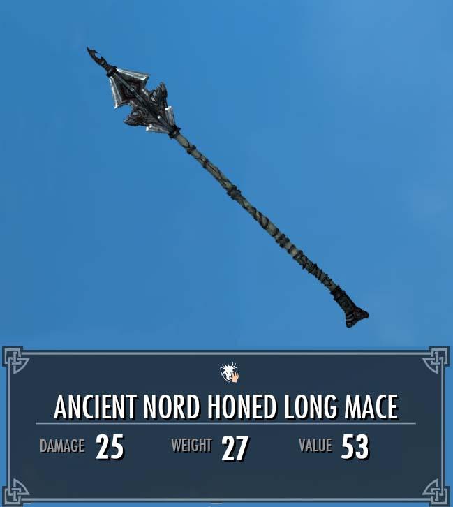 Ancient Nord Honed Long Mace