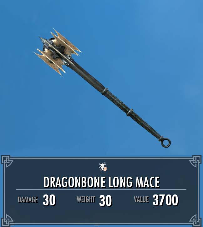 Dragonbone Long Mace