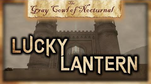 """""""Lucky Lantern"""" Permanent Passive Effect! - """"The Gray Cowl of Nocturnal"""" - Skyrim SE - Legacy"""