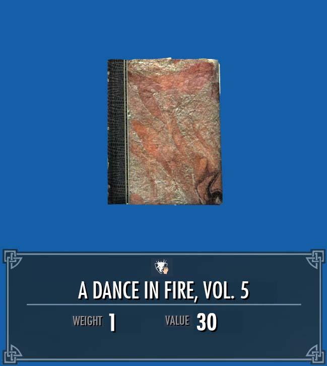 A Dance in Fire, Vol. 5