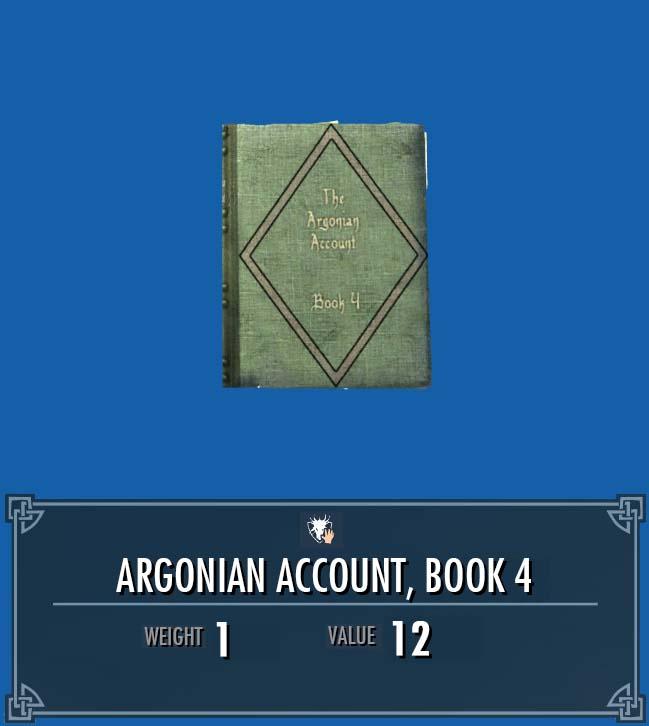 Argonian Account, Vol. 4