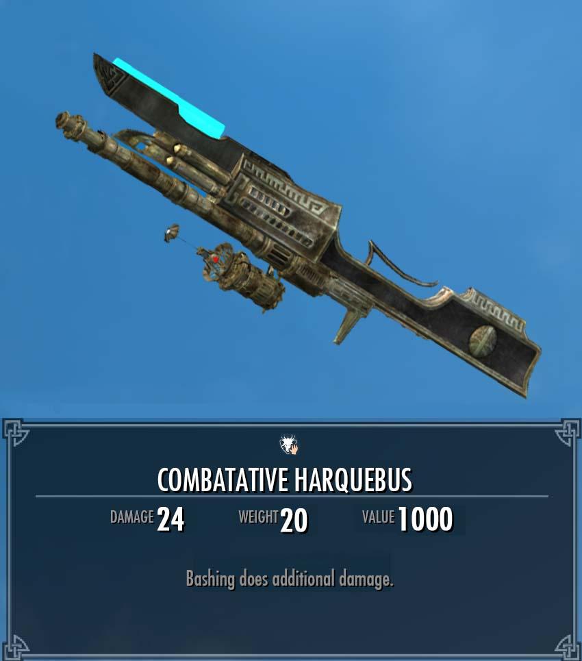 Combatative Harquebus