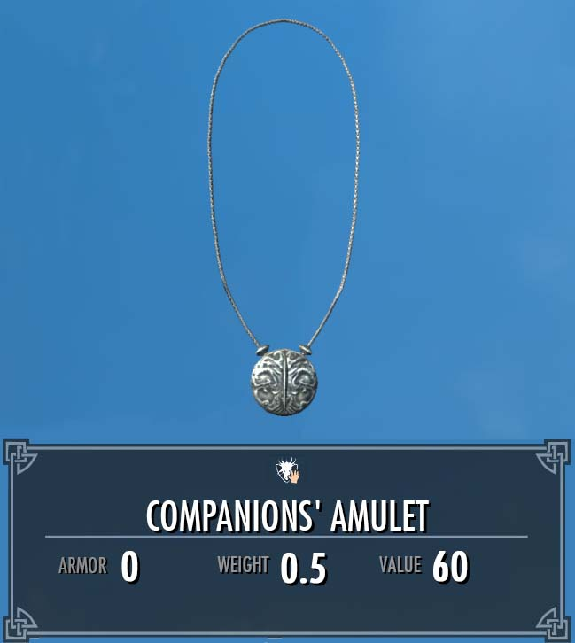 Companions' Amulet