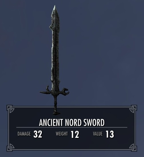 Ancient Nord Sword