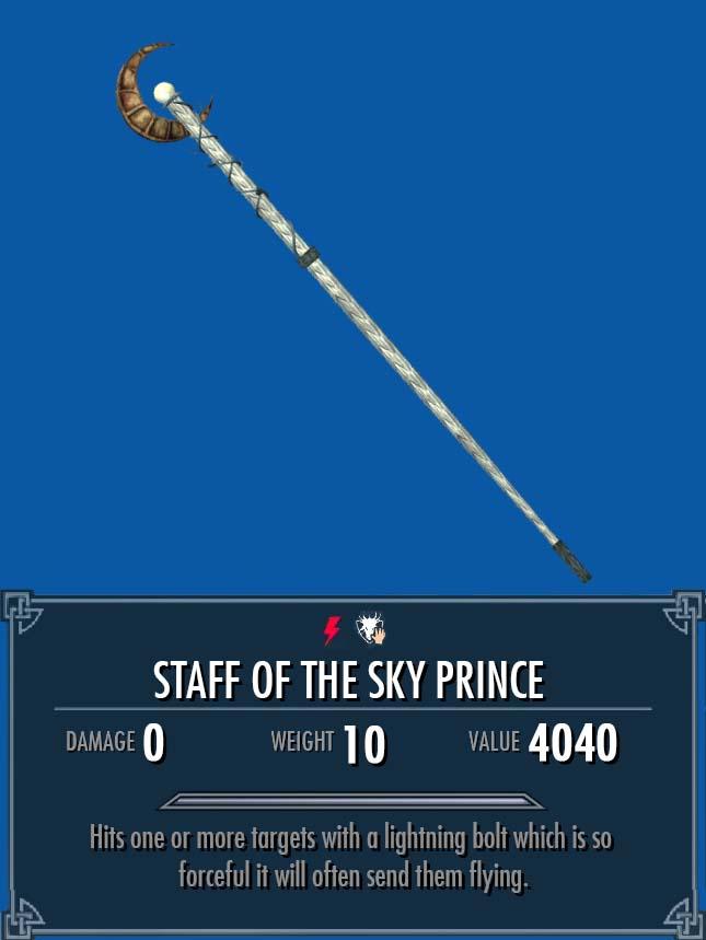 Staff of the Sky Prince