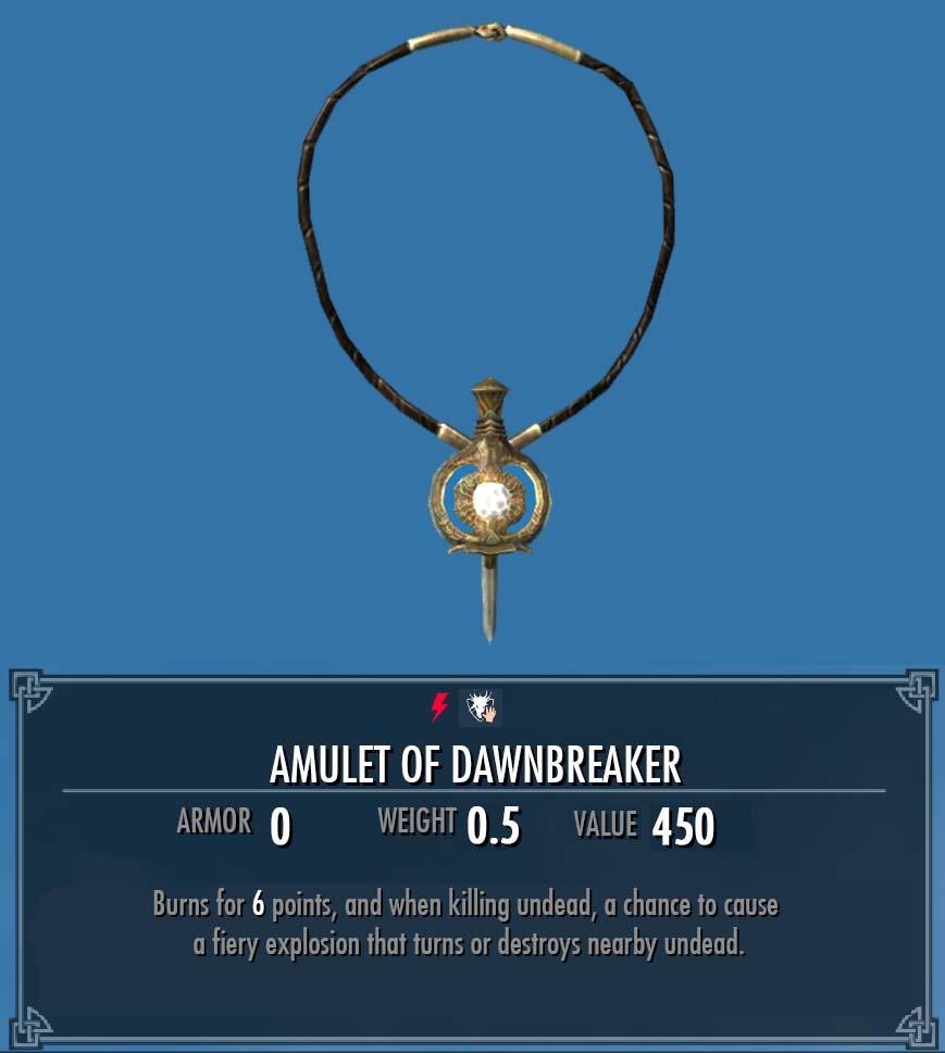 Amulet of Dawnbreaker