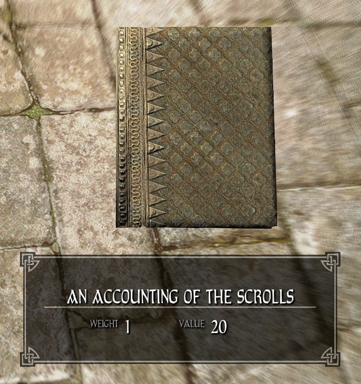 An Accounting of the Scrolls