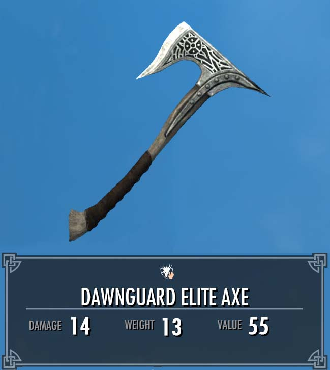 Dawnguard Elite Axe