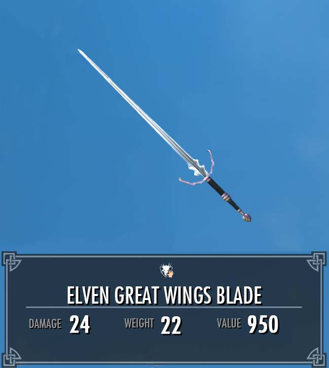Elven Great Wings Blade