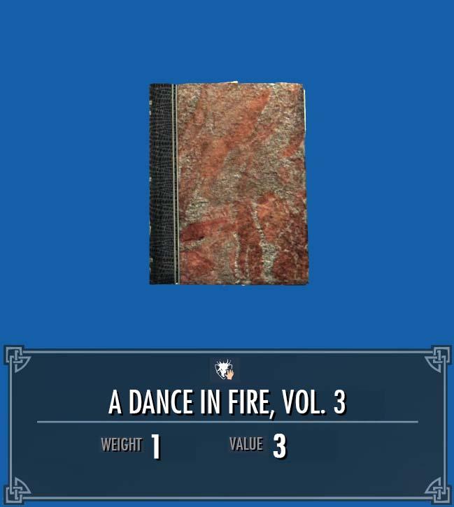 A Dance in Fire, Vol. 3