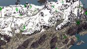 Kilkreath ruins on map