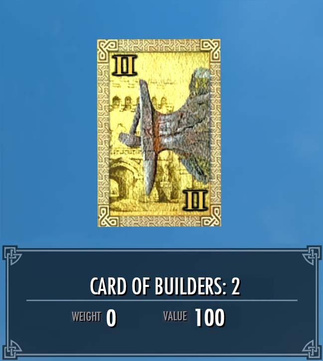 Card of Builders: 2