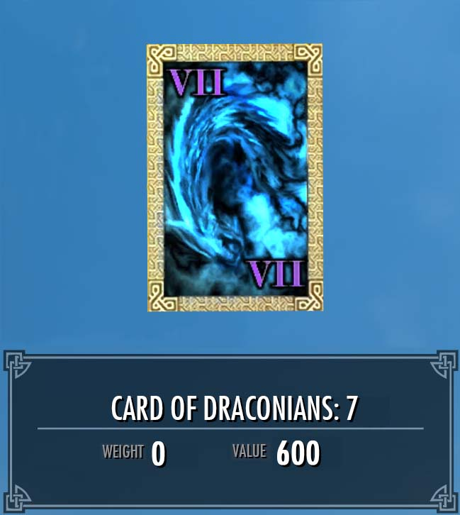 Card of Draconians: 7