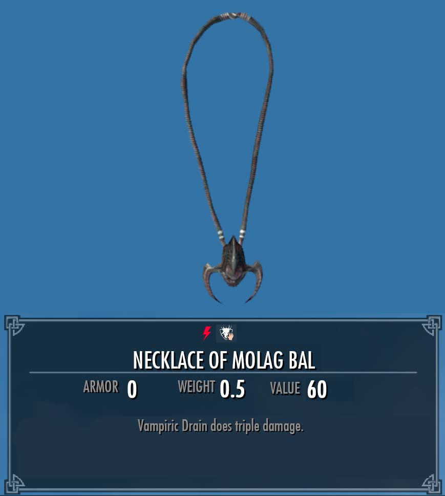 Necklace of Molag Bal