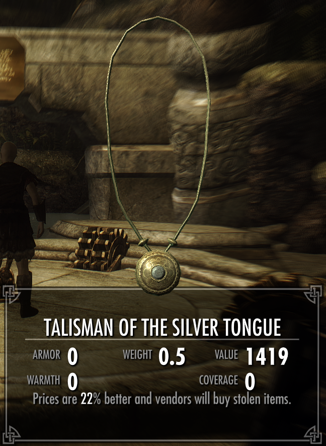 Talisman of the Silver Tongue