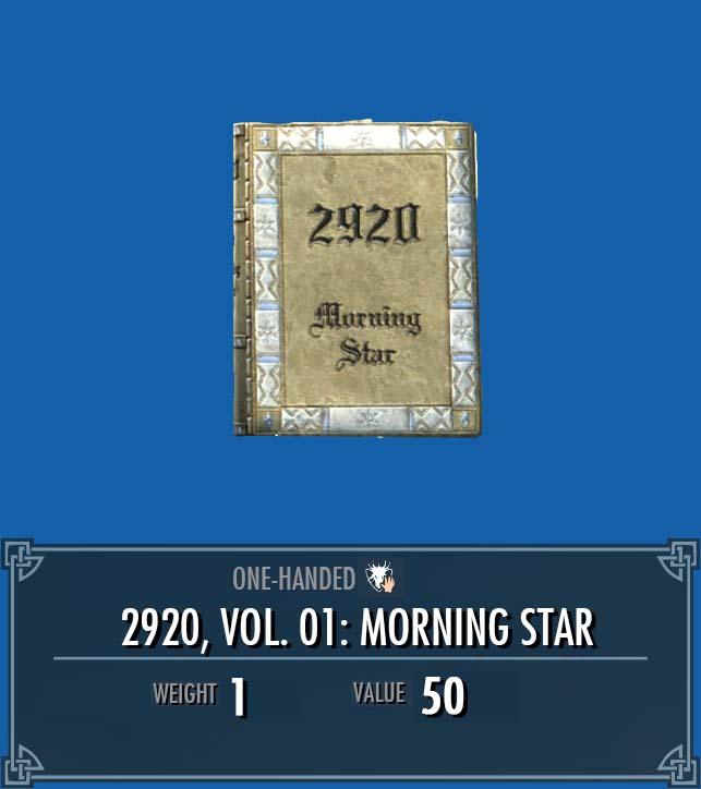 2920, Vol. 01: Morning Star