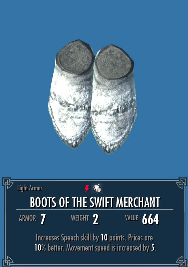 Boots of the Swift Merchant