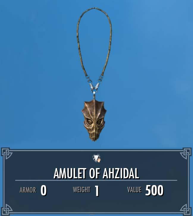 Amulet of Ahzidal