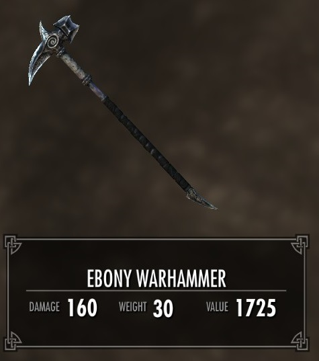 Ebony Warhammer