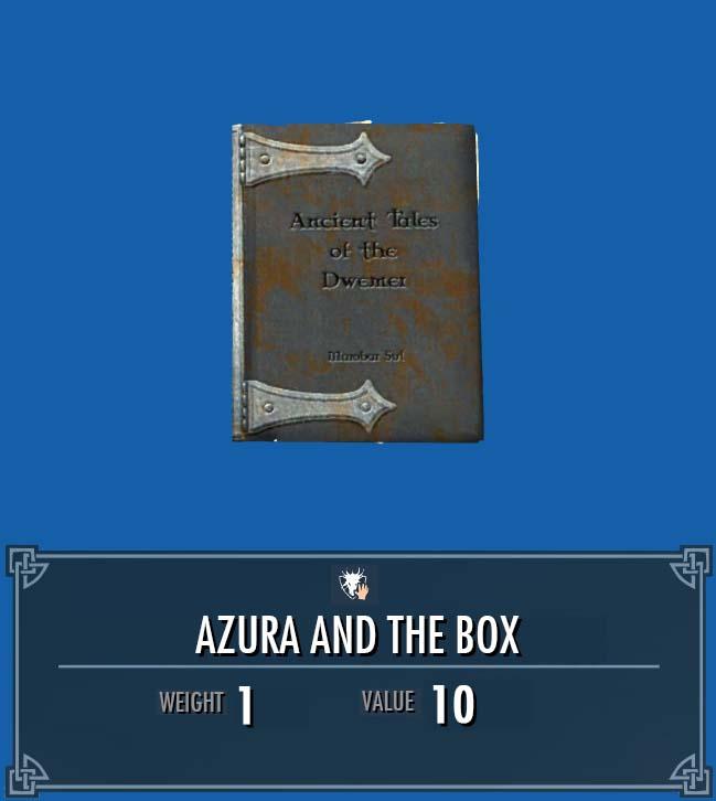 Azura and the Box