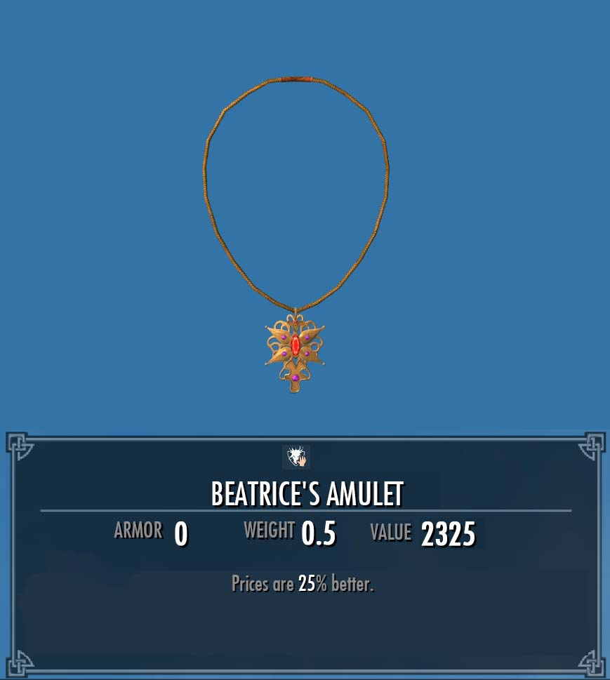 Beatrice's Amulet