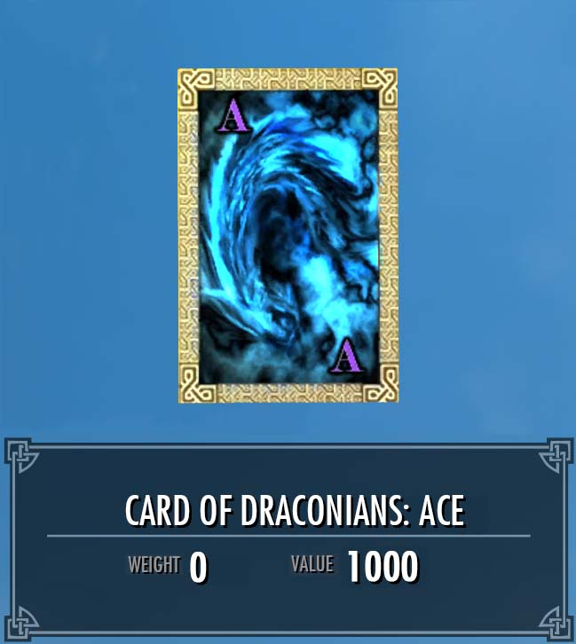 Card of Draconians: Ace