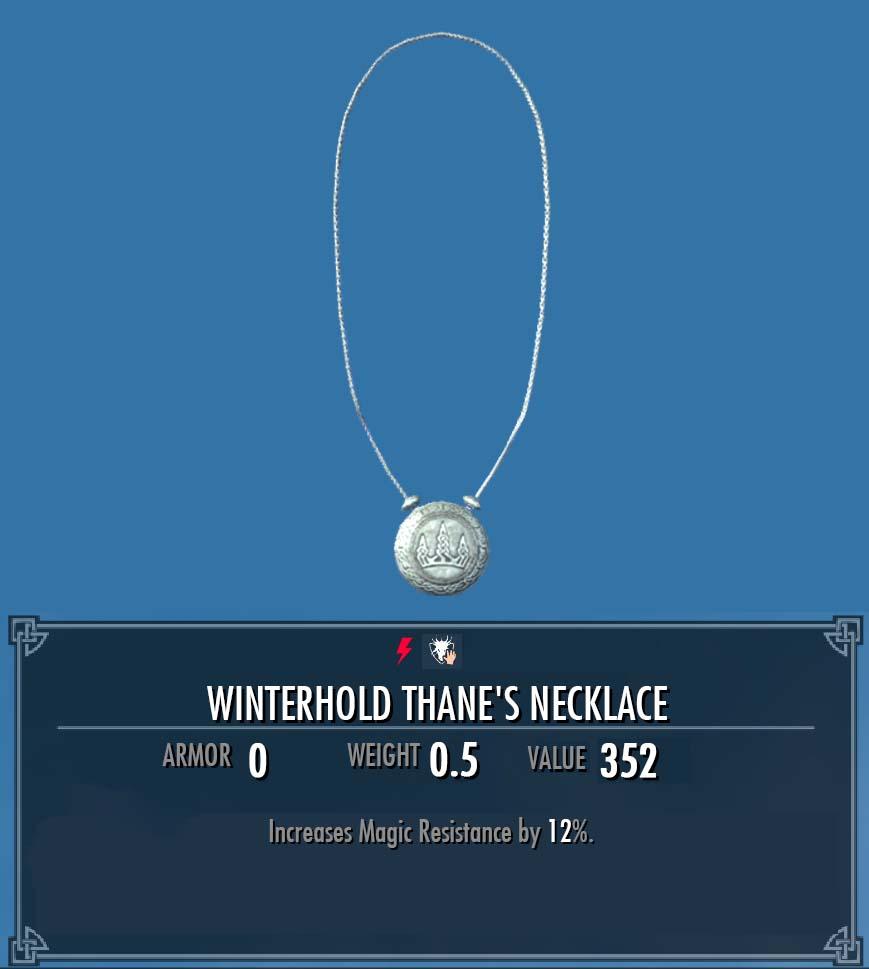 Winterhold Thane's Necklace