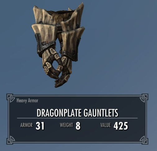 Dragonplate Gauntlets
