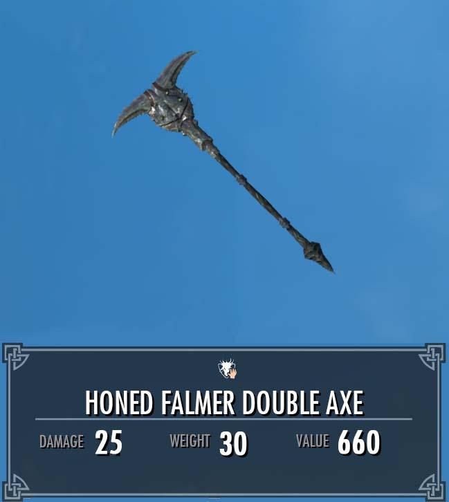 Falmer Honed Double Axe