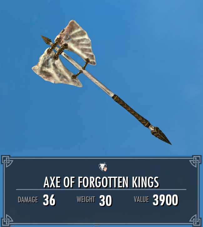 Axe of Forgotten Kings