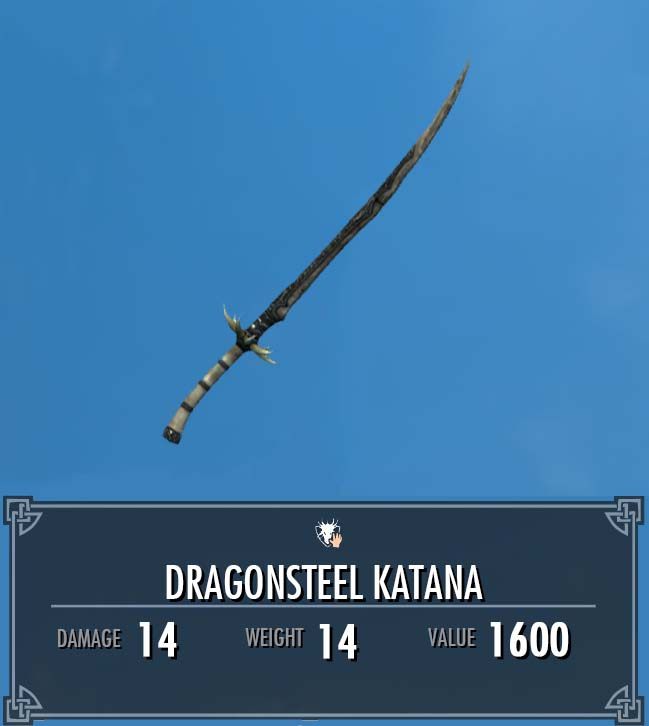 Dragonsteel Katana