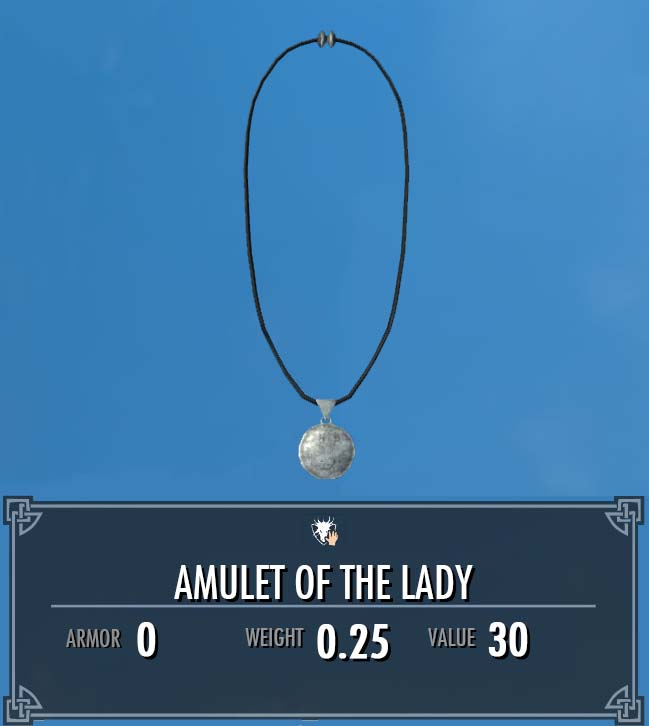 Amulet of the Lady